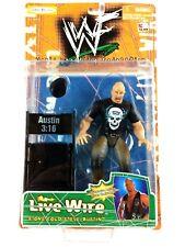 Stone Cold Steve Austin WWF Livewire Jakks Action Figure K-Mart Exclusive WWE