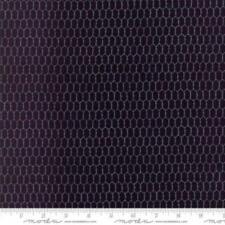 1/2 Yard Chicken Black Wire Print Fabric Quilt Sew Moda 100% Cotton 19827 16