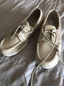 Women Sketchers Size 11 Boat Shoes