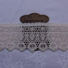 "Vintage Style  Scalloped Embroidery Crochet Lace Trim 2.8""(7cm) Wide 1Yd"