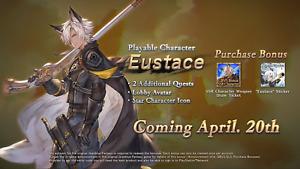 Granblue Fantasy Versus - Eustace (DLC Code) Granblue Fantasy Mobile Game