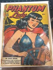 Phantom Lady #14 0.5! Low Grade Affordable Headlights Cover