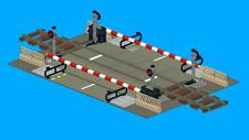 LEGO NOTICE : Instruction montage passage à niveau train custom