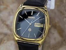 Seiko Grand Quartz 1980 Mens Made in Japan Vintage Precision Original Watch Y97