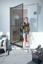 Schellenberg Insektenschutz Tür Basic Alu-Rahmen 100 x 210 cm in Weiß oder Braun