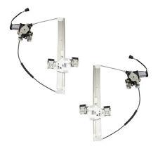 Power Window Regulators Set fits 03-09 Hummer H2 & H2 SUT Rear Pair Lift Motors