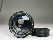 Rare Vintage SUN for Canon C/FD 80-200mm f4.5 + Macro Camera Lens + rear Cap