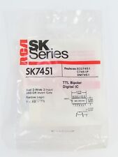 RCA SK7451 - Dual 2-Wide 2-Input AND-OR Input Gate - 14-Pin DIP TTL IC, NOS