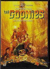Steven Spielberg: LOS GOONIES de Richard Donner. Agotado en dvd.