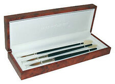 Daler Rowney Diana Kolinsky Sable Watercolour Brush Presentation Box Sizes 2 6 8