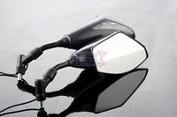 Yamaha XT1200Z Super Tenere XT600E XT660X/R 10mm INTEGRATED LED MIRRORS Carbon