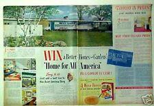 1954 Aunt Jemima Pancakes Mix~Waffles Black Americana Memorabilia Home Offer AD