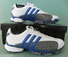 Nib~Adidas Golf~POWERBAND GRIP ZONE Climaproof cleats Traxion Shoes~Mens size 11