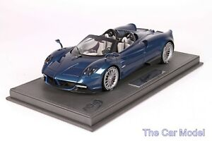 Pagani Huayra Roadster Blue Carbon - Ltd 80 pcs with Display Case BBR 1/18