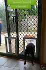 NEW LARGE Dog Door Suited For Glass Windows & Doors & Screen Fitting. We Fit too