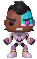 """TEEN TITANS GO Figurine CYBORG N° 605 """"POP"""" FUNKO"""