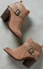 Anthropologie Jordana Bootie Distressed Suede by KDB Size 8.5