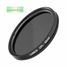 LUMOS Polfilter Ø 52mm cpl Pol Filter Kamera Objektiv Polarisationsfilter 52 mm