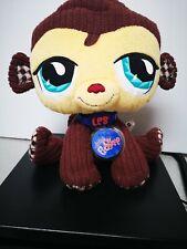 "Littlest Pet Shop Lovely MONKEY 9"" Plush Stuffed Animal"