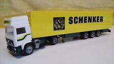 Albedo HO Volvo Schenker 301004 Koffersattelzug DJ 81 Neuwertig OVP