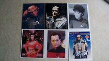 Lot 6 Star Trek signed autographed photos guest stars secondary characters