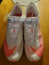 Nike Air Zoom Fly 3 Vaporweave Running Shoes AT8240 101 White Crimson Red Sz 9.5