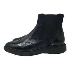 GEOX D Prestyn D Chelsea Boots - Black - UK 4/EU 37 - £110