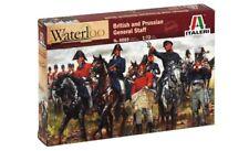 ITALERI 6065 - 1/72 BRITISH AND PRUSSIAN GENERAL STUFF - WATERLOO - NEU