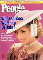 1985 People November 11-Princess Diana; Fred Thmpson; Hampton VA School;Kasparov