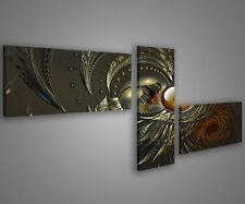Quadri moderni astratti 180 x 70 stampe su tela canvas con telaio MIX-S_62