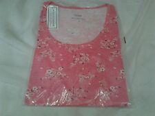 RILASSATI e dormire Pigiama Top/T-shirt stile in rosa Taglia 14 NUOVO CON ETICHETTA