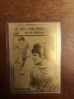 Danbury Mint 22ct Gold card Limited Edition Liverpool FC Golden Greats