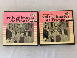 Student Records for voix et images de France Parts 1-2 Chilton Vinyl 1037/1038