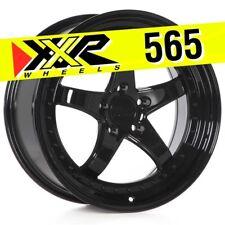 XXR 565 18x8.5 5-114.3 +20 Gloss Black Wheels (Set of 4) Fits Nissan 350Z G35