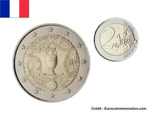 2 Euros Commémorative France 2016 UEFA - UNC
