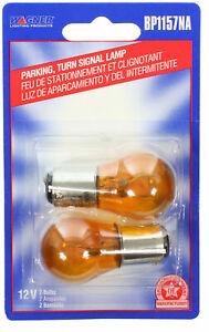 Wagner BP1157NA Amber Turn Signal Light Bulb - 2 PACK