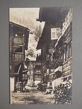 R&L Postcard: Dorfgasse Kippel, Switzerland Suisse,