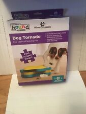 OUTWARD BOUND Raise The Wood Dog Tornado Puzzle Toy Stimulating Interactive Dog