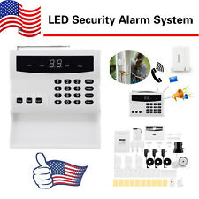 Led Intelligent Wireless Digital Security Alarm System Burglarproof Home Safe Us