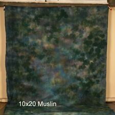 Hand Painted Muslin Photography Background 10x20 Abstract USA Made