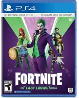Fortnite: The Last Laugh Bundle - Sony Playstation 4 PS4 Epic Games Brand NEW