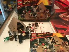 Lego Indiana Jones And The Crystal Skull Jungle Duel 7624 Complete and boxed VGC