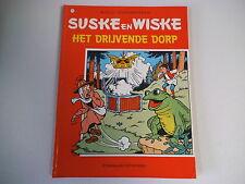 SUSKE EN WISKE 173. Het drijvende dorp 1986