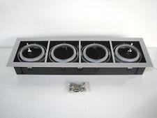 4 x NEW BULK Quad Multi-Head Recessed Downlight QR111 G53