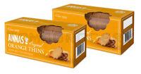 2 x ANNAS Original Swedish Orange Thins Cookies Biscuits 150g 5.3oz