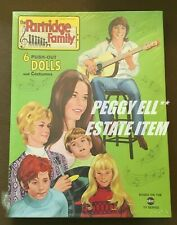 "1972 SAALFIELD ""THE PARTRIDGE FAMILY"" AUTHORIZED EDITION PAPER DOLL SET SEALED"