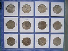2002 2003 2004     P  D  KENNEDY HALF DOLLARS FROM MINT ROLLS 6 Coins