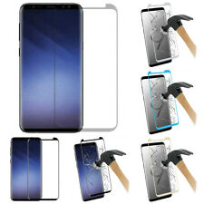 For Samsung Galaxy S9 Plus FULL Coverage Screen Tempered Glass Protector Guard