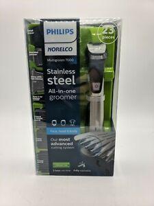 Philips Norelco MG7750/49 Multigroom Series 7000, Men's Grooming Kit barely used