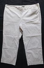 ALFANI Womens Lightweight Stripe Flat Front Dress Pants Plus Size 24W